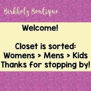 Tops - Thank you for checking the boutique out!
